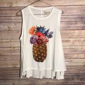 Show Me Your Mumu Mellow Jolo Pineapple Tank